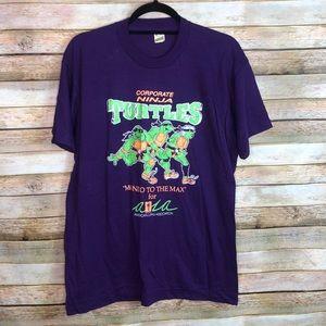 Corporate Ninja Turtles Vintage Single Stitch